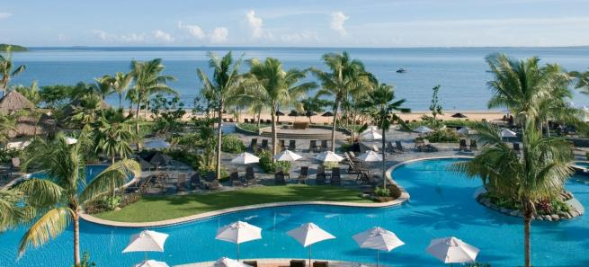 Sofitel Fiji  - Aerial of Pool