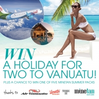 Win a Holiday for Two to Vanuatu