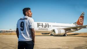 One of Fiji's favourite sporting sons to join National Airline to promote hometown